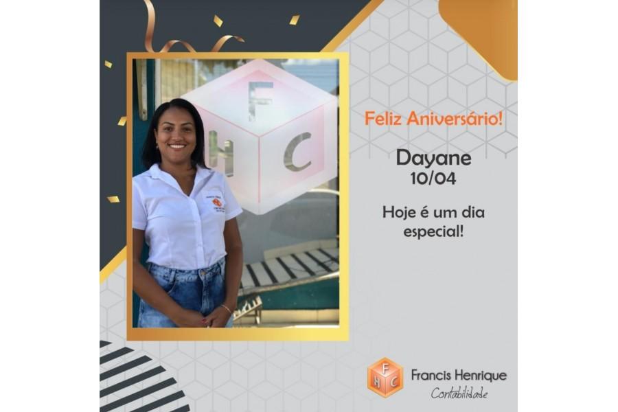 Feliz Aniversário Dayane!
